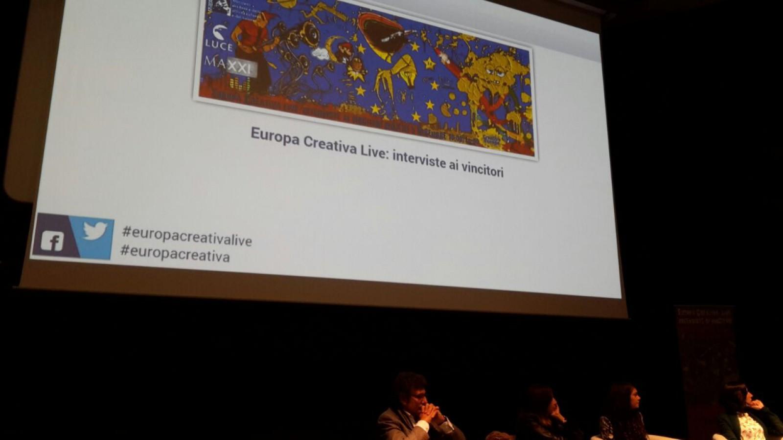 Europa Creativa live Interviste ai vincitori